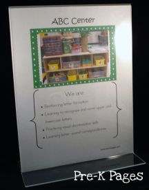 abc center sign