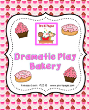 dramatic play bakery cover