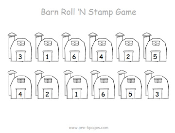 barn roll stamp