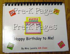 Happy Birthday Book Front