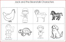 jack and the beanstalk character printable