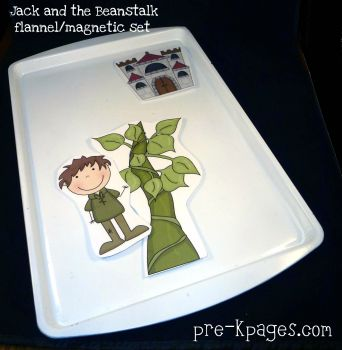jack and the beanstalk magnetic set