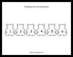 bear roll stamp