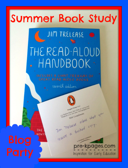 Summer Book Study: The Read-Aloud Handbook by Jim Trelease #preschool #kindergarten #homeschool