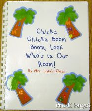 Chicka Chicka Class Book in #preschool and #kindergarten