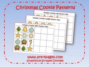 christmas cookie patterns