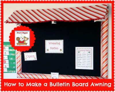How To Make A Bulletin Board Awning Diy