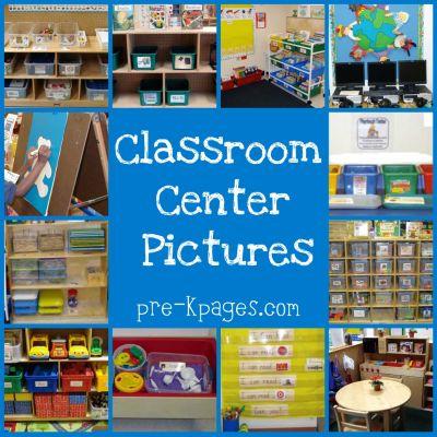 preschool classroom center pictures