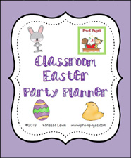 FREE Classroom Easter Party Planning Guide #preschool #kindergarten