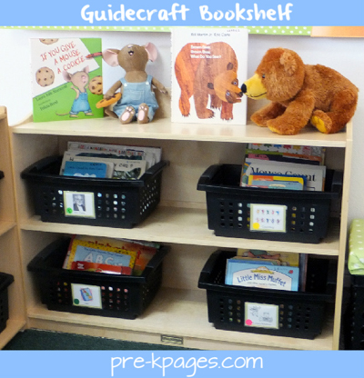 Classroom library organization via www.pre-kpages.com