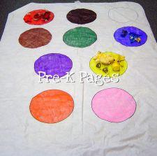 color tablecloth