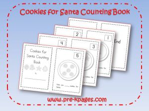 cookies for santa counting book