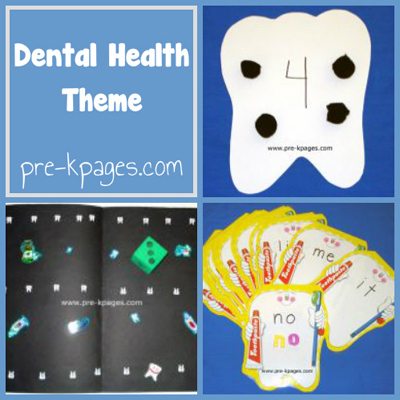 dental health theme in preschool
