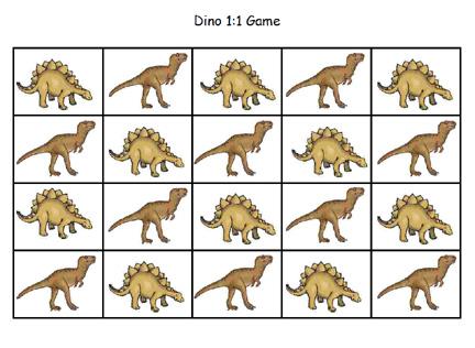 dino 1 to 1
