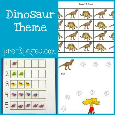 dinosaur theme in preschool