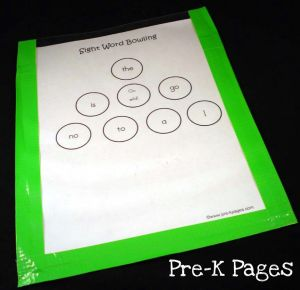 diy dry erase pockets