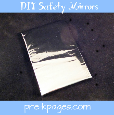 diy safety mirrors for your preschool classroom