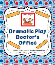 doctor office dramatic play kit