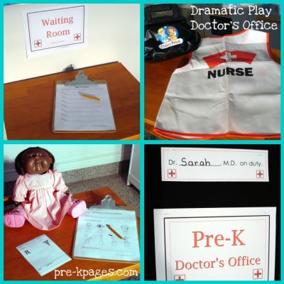 doctors office dramatic play center