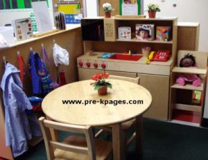 dramatic play center