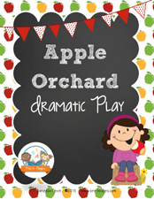 Apple Orchard Dramatic Play Printables for #preschool and #kindergarten