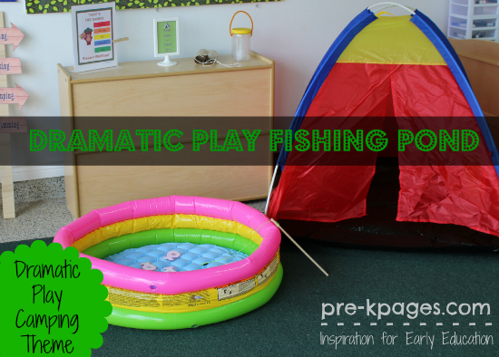 Dramatic Play Fishing Pond In Preschool