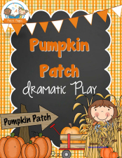 Pumpkin Patch Dramatic Play Printables for #preschool and #kindergarten