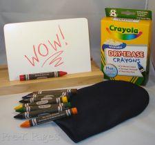 dry erase crayons