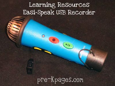 easi speak usb recorder