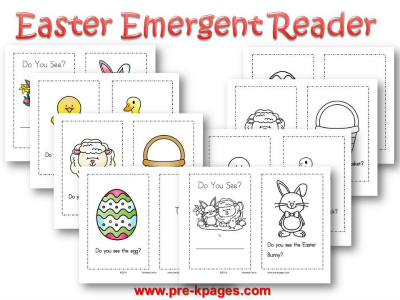 Printable Easter Emergent Reader