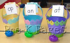 easter word family eggs