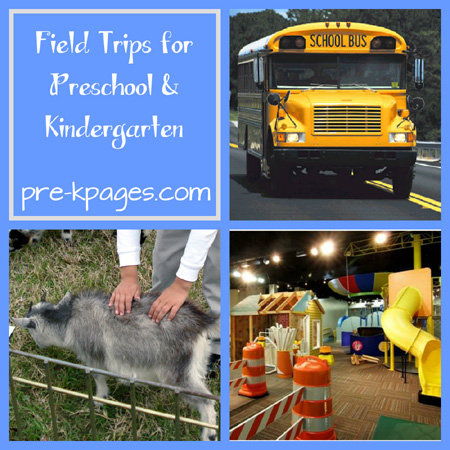 field trips for preschool and kindergarten