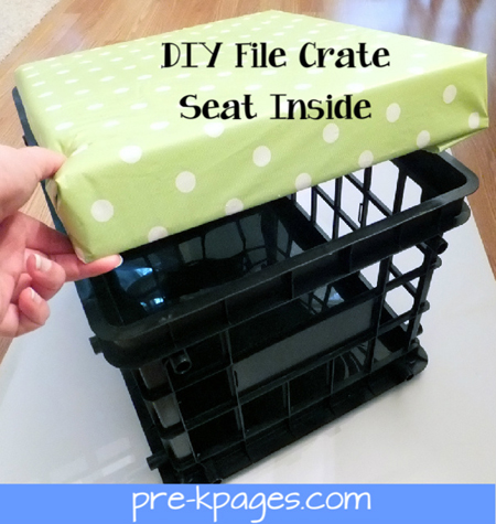 crate seat inside