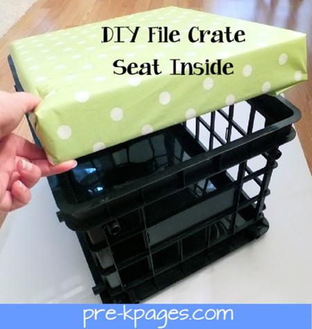 Superbe Crate Seat Inside