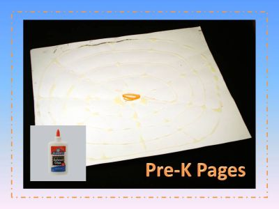 spider web fine motor activity