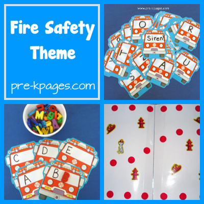 fire safety collage