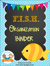FISH Binder: Printable Parent Communication Notebook for #preschool and #kindergarten