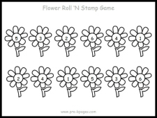 flower roll stamp