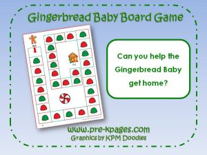 gingerbread board game