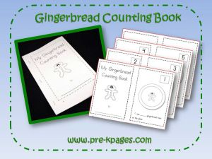 gingerbread counting book