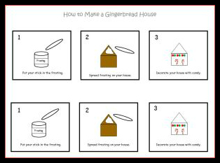 printable gingerbread house recipe