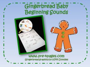 gingerbread beginning sounds