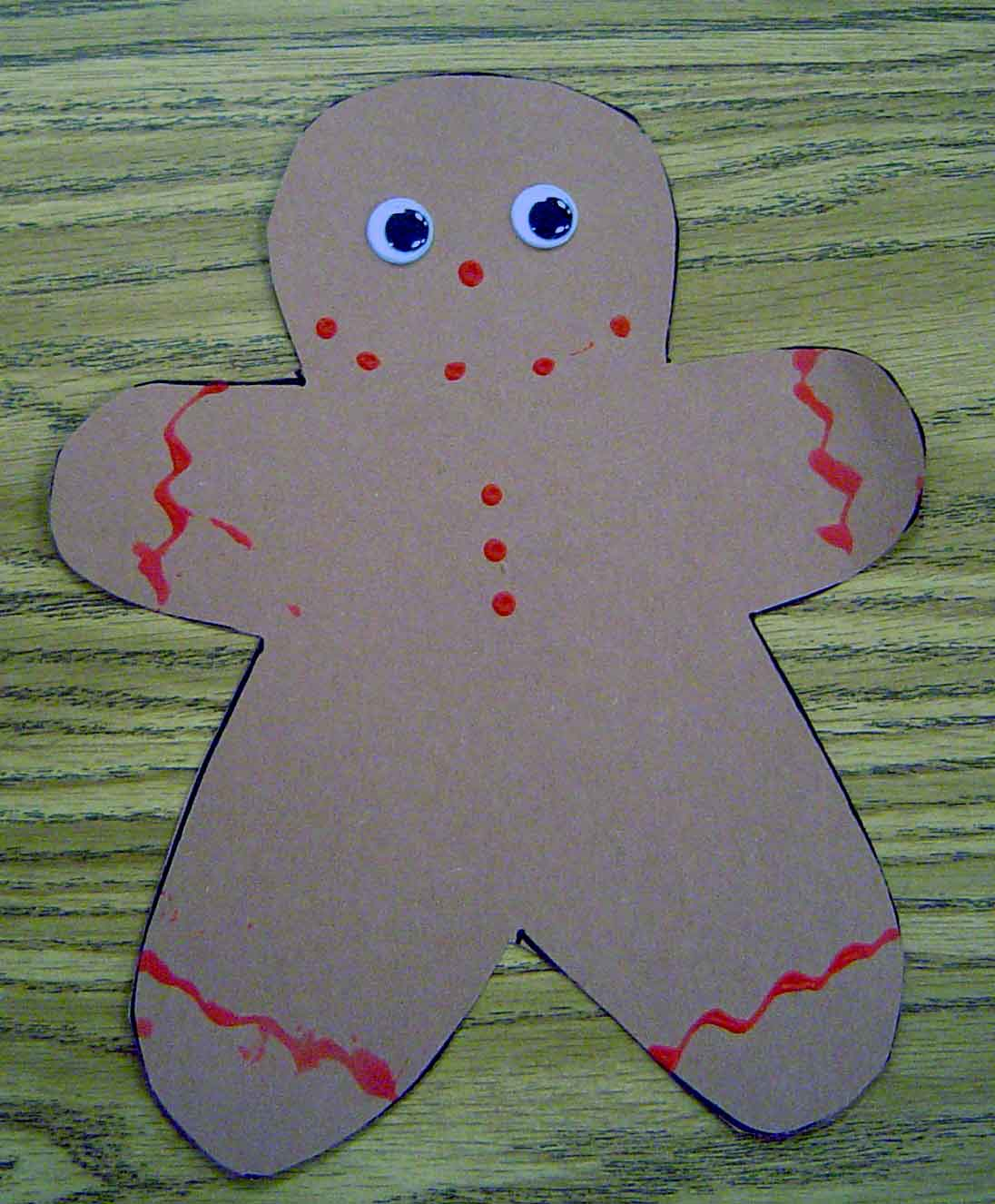 decorate gingerbread