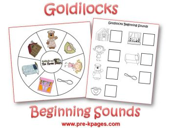 Goldilocks beginning sounds