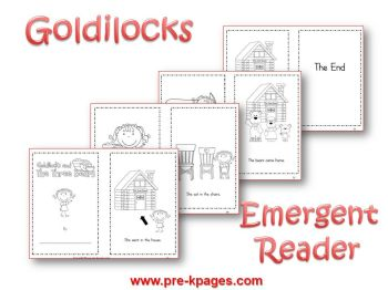 Goldilocks emergent reader