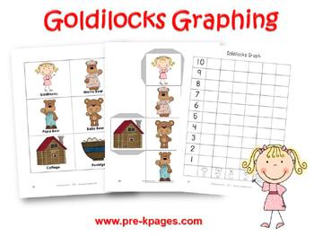 Printable Goldilocks Graphing Activity