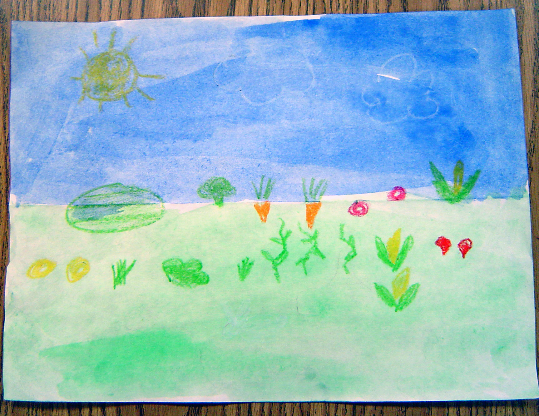 spring watercolor