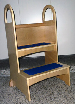 guidecraft high rise step up stool : step up stools - islam-shia.org