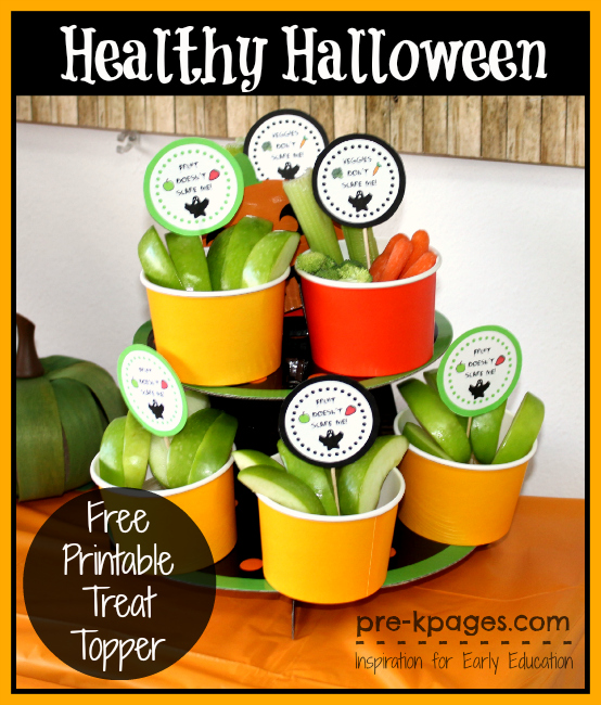 Healthy Halloween Classroom Party Treat Ideas