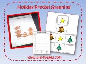 holiday pretzel graph